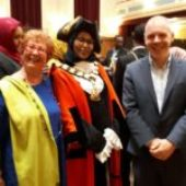 Nafsiyat chosen by the Mayor of Islington